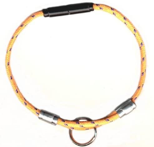 National Leash Mango Orange - Adjustable Breakaway CAT Safety Collar - Bikini Model