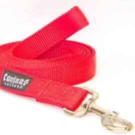 "Caninus Collars Nylon Leash - 1"" Width Leash (Single & Double ply leashes"