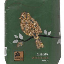 Honeyfields Quality Wild Bird Food - 12.6Kg, All Season, Bird Food Mix, Ideal for Hanging Feeders, Ground Feeding & Bird Tables