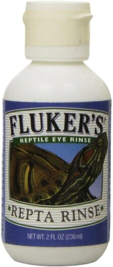 Fluker's 73040 Repta Rinse Reptile Eye Rinse, 2-Ounce
