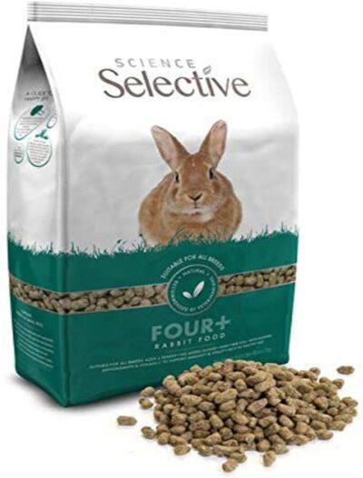 Supreme Science Selective 4+ Mature Rabbit Food 4.4lbs