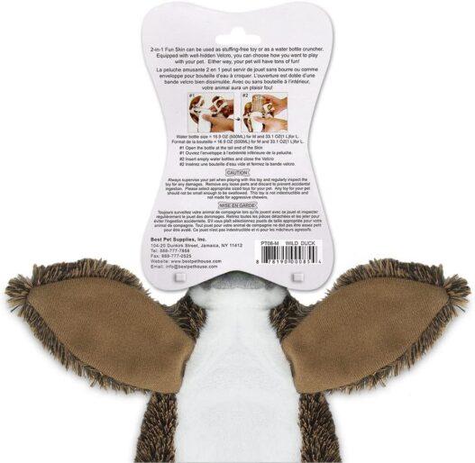 Best Pet Supplies Dog Squeaky Chew Toys Fun Skin/Plush/Log