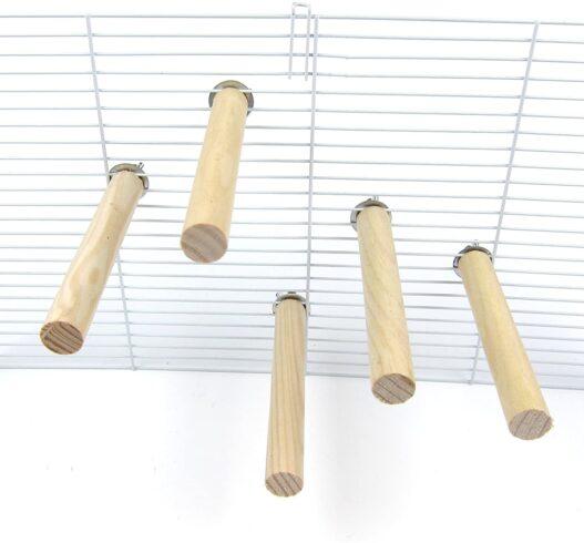 Alfie Pet - Joseph Natural Wood Perch 5-Piece Set for Birds