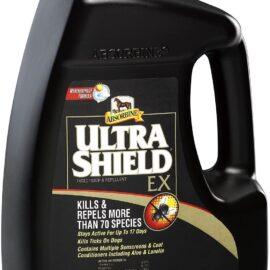 Absorbine Gallon Ultra Shield EX Horse Fly Spray Kills Repels 70 Species Weatherproof Formula