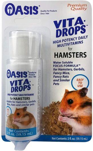 Kordon Oasis #80260 Vita Drops for Hamsters, 2-Ounce