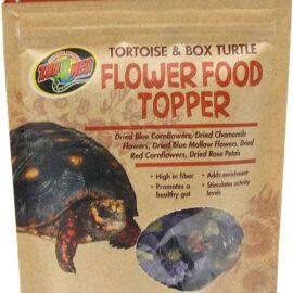 Zoo Med 690723 Tortoise & Box Turtle Flower Food Topper, 0.21 oz, Assorted