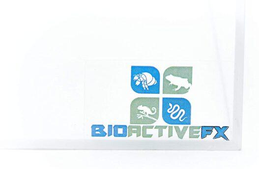 BioactiveFX 1.25 Gallon Magnetic Acrylic 8x6x6 Inch Medium Flat/Long Enclosure Reptile Terrarium Cage Tank Tarantula Scorpion Sling Isopods Lizards Invertebrates Insects Mantis Snake Gecko Frog