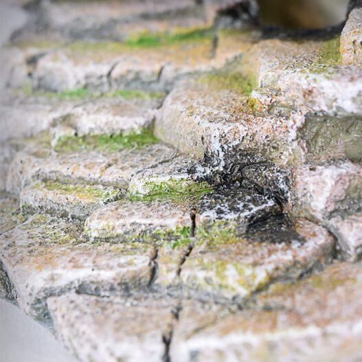 Penn-Plax Reptology Shale Step Ledge for Aquariums & Terrariums, Adds Hiding Spots, Swim Throughs, Basking Ledges for Fish, Reptiles, Amphibians, and Small Animals