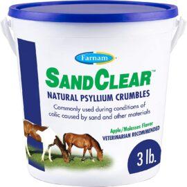 Farnam SandClear Natural Psyllium Crumbles, 3 lbs