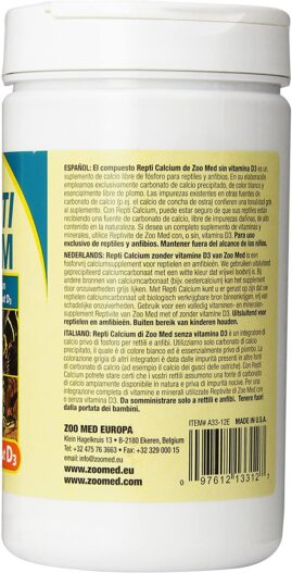 Royal Pet Supplies Inc Zoo Med Reptile Calcium
