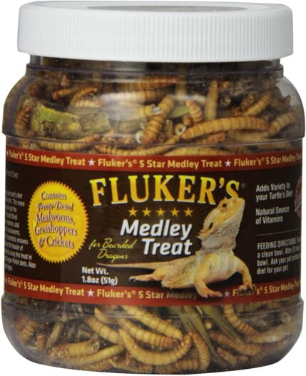 Fluker's Bearded Dragon Medley Treat Food